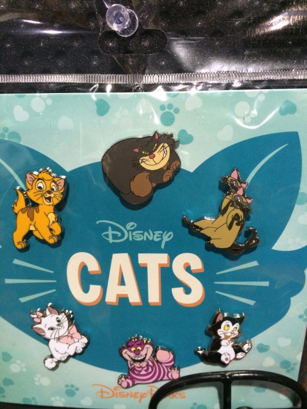 Disney Cats Booster Pin Set