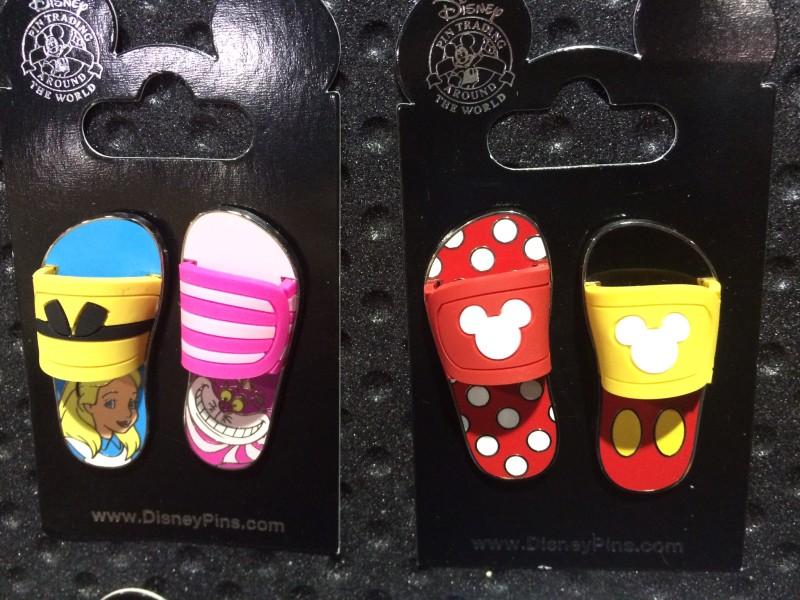 Disney Flip Flop Pins 2