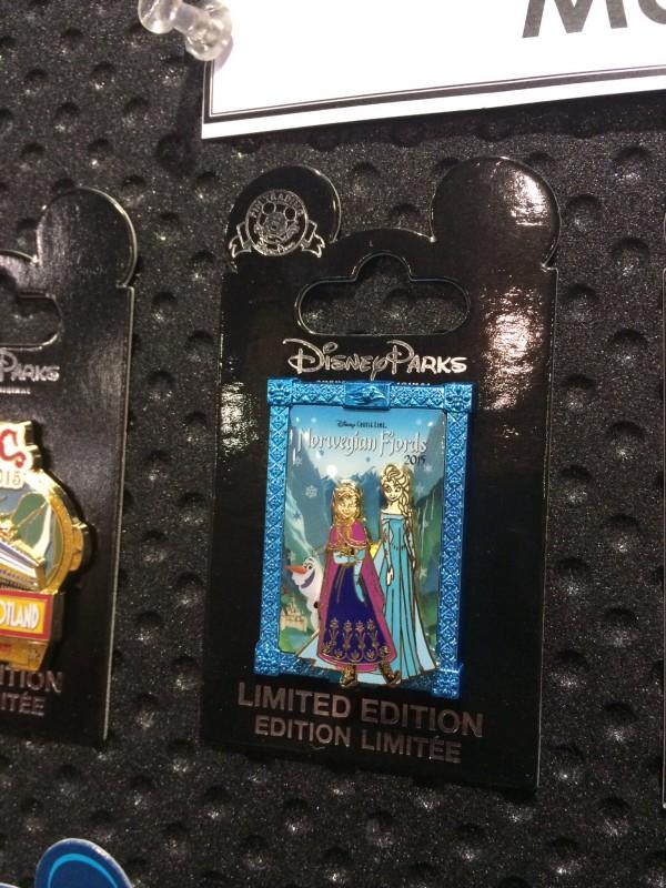 Disney Frozen Norwegian Fjords Pin