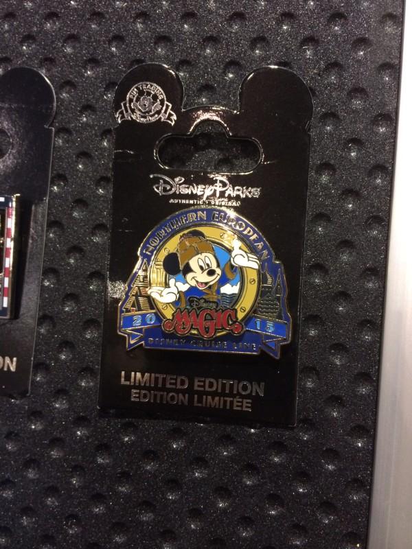 Disney Magic Northern European Pin 2015