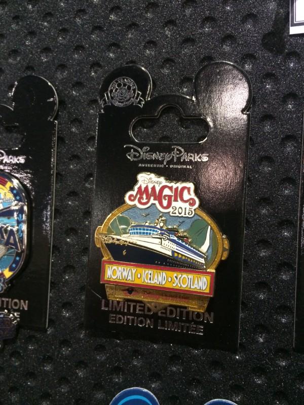 Disney Magic Norway Iceland Scotland Pin