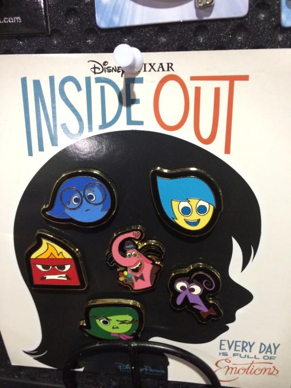 Disney Pixar Inside Out Pin Set