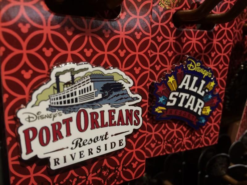 Disney Resort Pins - Port Orleans & All Star