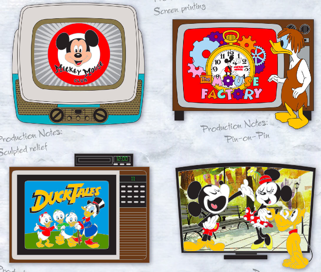 Disney TV Pin Box Set - GenEARation D