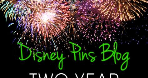 DisneyPinsBlog.com 2 Year Anniversary