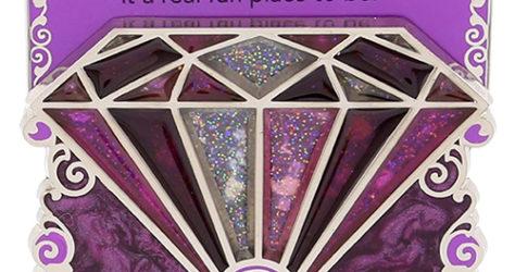 Disneyland 60th Purple Diamond Pin