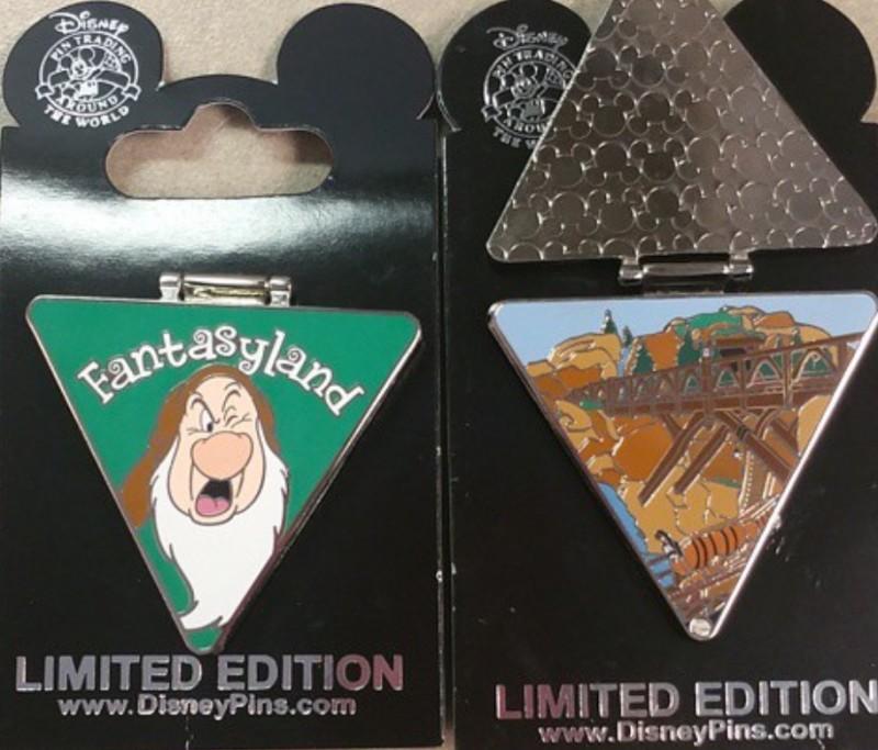 Fantasyland Disney Pin 2015