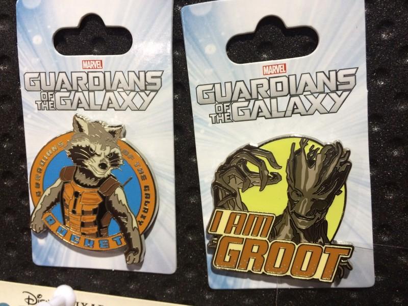 Guardians of the Galaxy Disney Pins