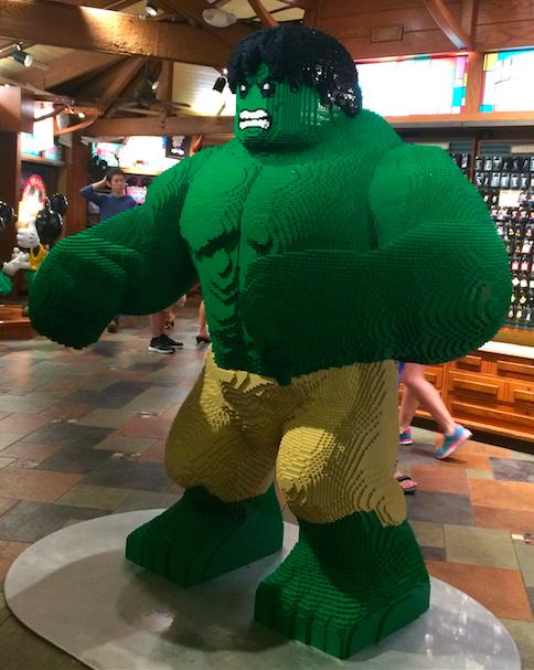 Lego Hulk - Downtown Disney