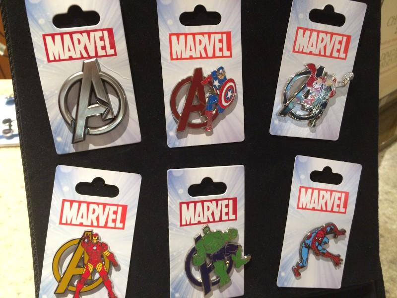 Marvel Avenger Disney Pins 1