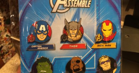 Marvel Avengers Booster Pin Set