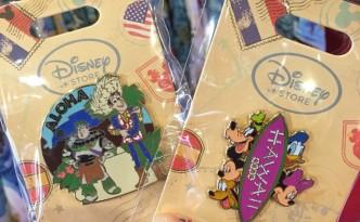 New Disney Store Hawaii Pins