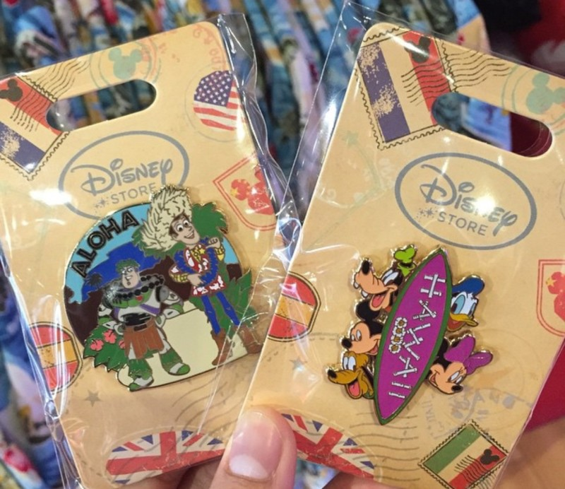 New Disney Store Hawaii Pins