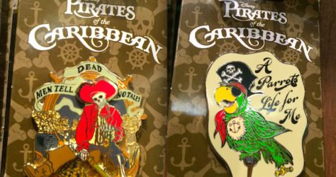 New Pirates of the Caribbean Pins