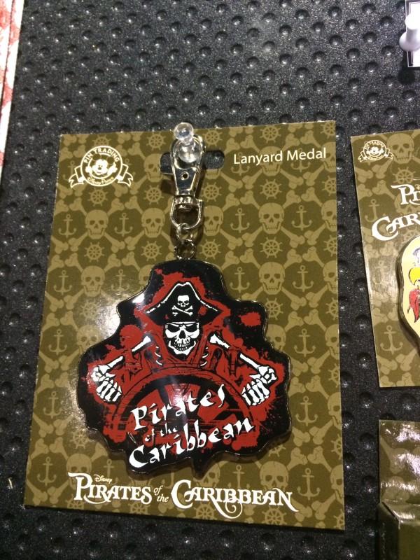 Pirates Disney Lanyard Metal