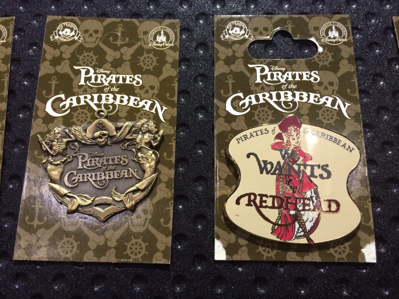 Pirates of the Caribbean 2015 Pins