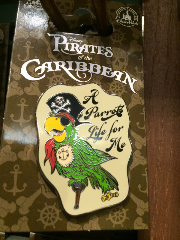 Pirates of the Caribbean - A Parrots Life for Me