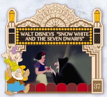 Snow White Carthay Circle Pin - GenEARation D