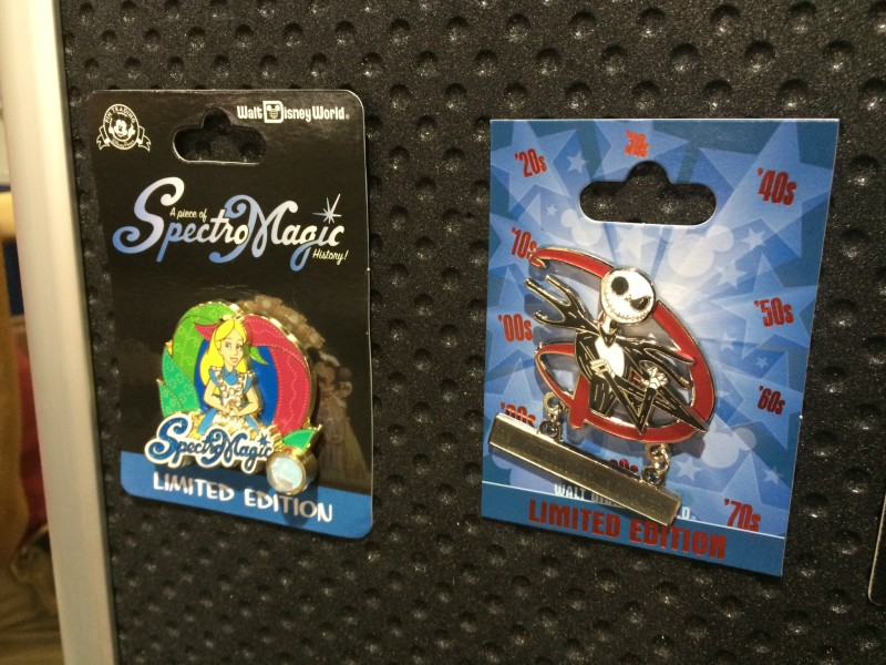 SpectroMagic and GenEARation D Pins