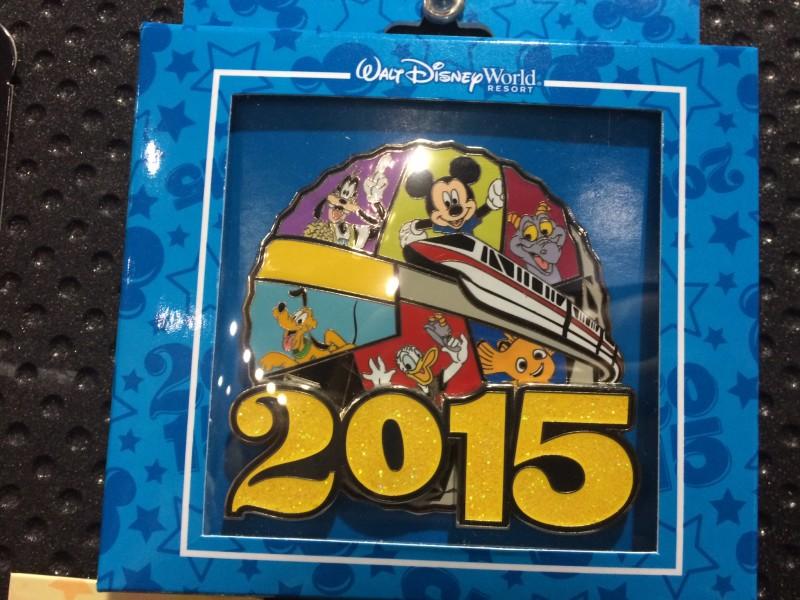 WDW Epcot Jumbo Pin 2015