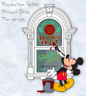 Walt Disney Main Street USA Window Pin - GenEARation D