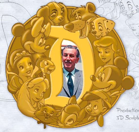 Walt Disney Super Jumbo Pin - GenEARation D