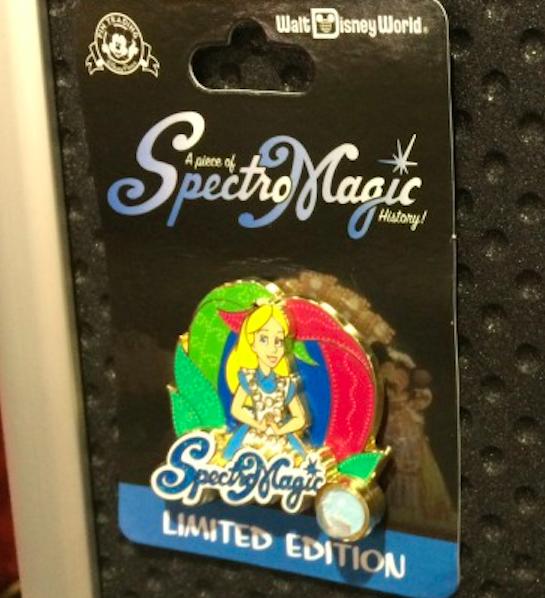 Alice in Wonderland SpectroMagic Pin