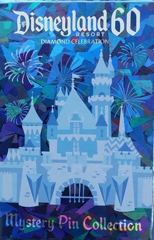 Disneyland 60th Mystery Pin Box