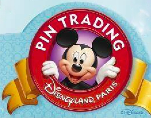 Disneyland Paris Pin Trading Logo