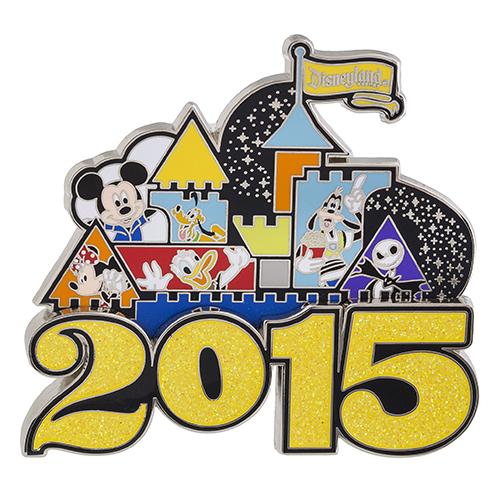 Disneyland Park 2015 Jumbo Pin