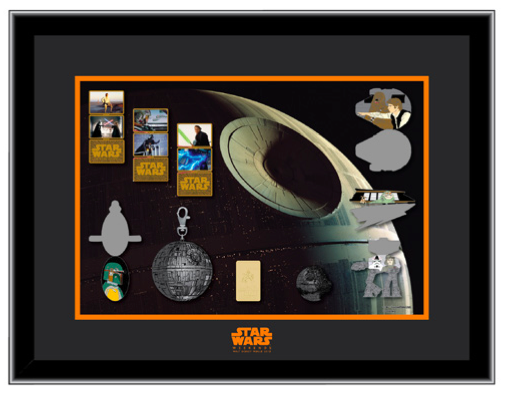 Framed Pin Set with Completer Pins - Galactic Gathering