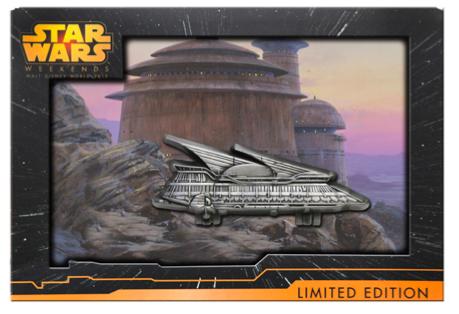 Jabba's Sail Barge Jumbo Pin - Galactic Gathering
