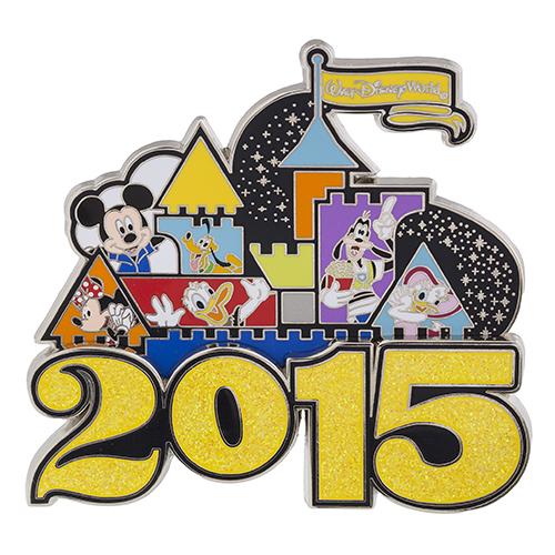 Magic Kingdom 2015 Jumbo Pin