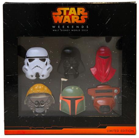 Star Wars Helmets Pin Set - Galactic Gathering