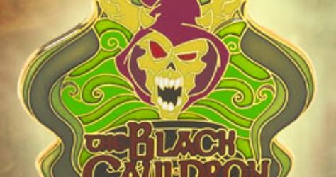 The Black Cauldron Pin