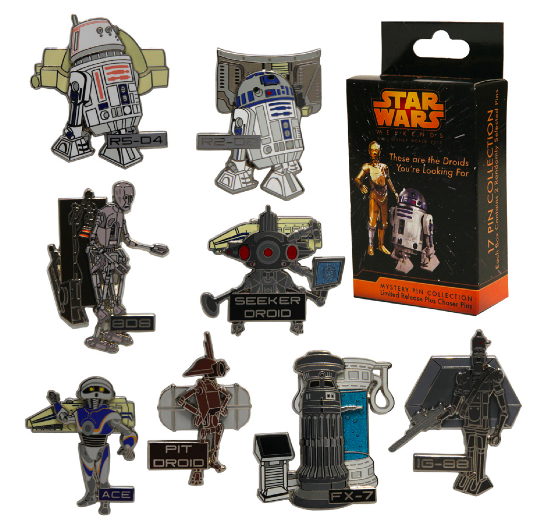These Are the Droids You're Looking For Pins