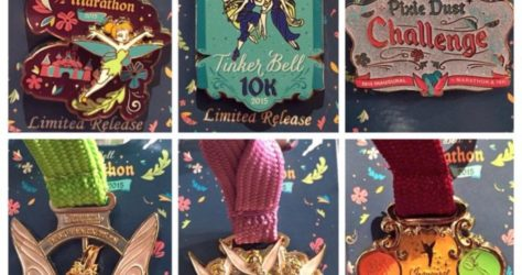 Tinker Bell Half Marathon Weekend 2015 Pins