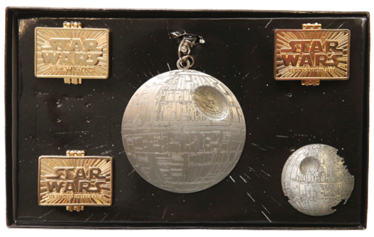 Tired Pin Set with Death Star Completer Pin