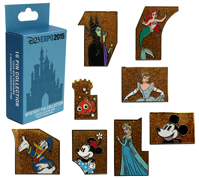 D23 Expo 2015 Limited Release Pin Set