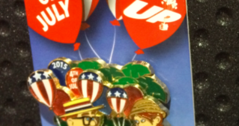 Disney 4th of July Pin 2015