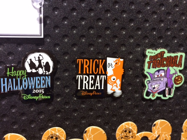 happy halloween disney parks pins