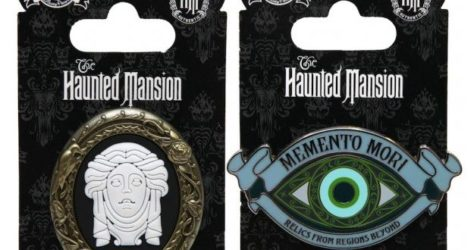 Haunted Mansion Pins