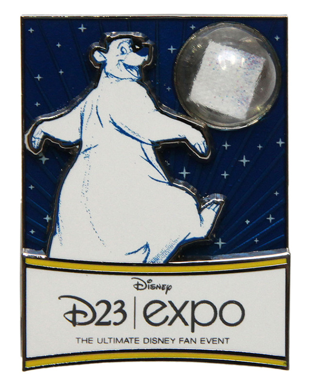 Piece of D23 Expo History Pin - 2015