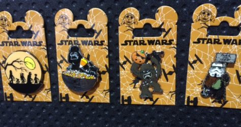 Star Wars Halloween Pins 2015