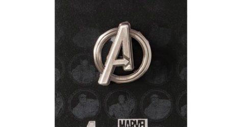 Avengers Logo Pewter Lapel Pin