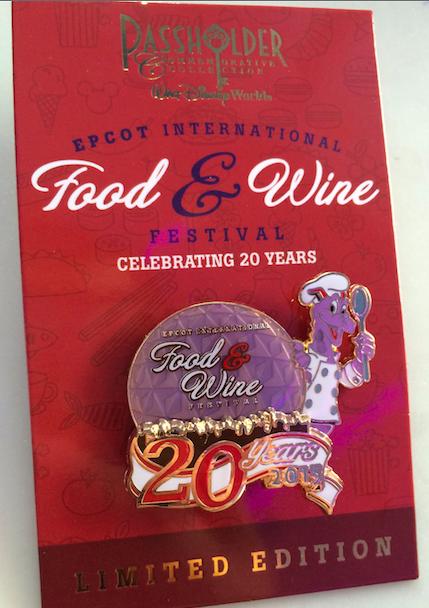 Chef Figement Epcot Food & WIne 2015 Pin