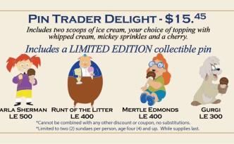 DSSH Pin Trader Delight - July 25, 2015
