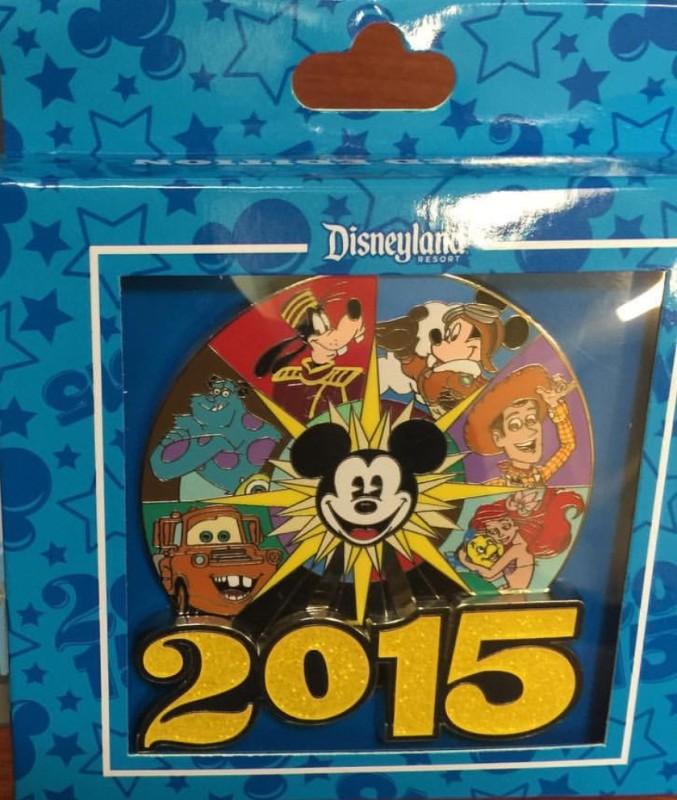 Disney California Adventure 2015 Jumbo Pin