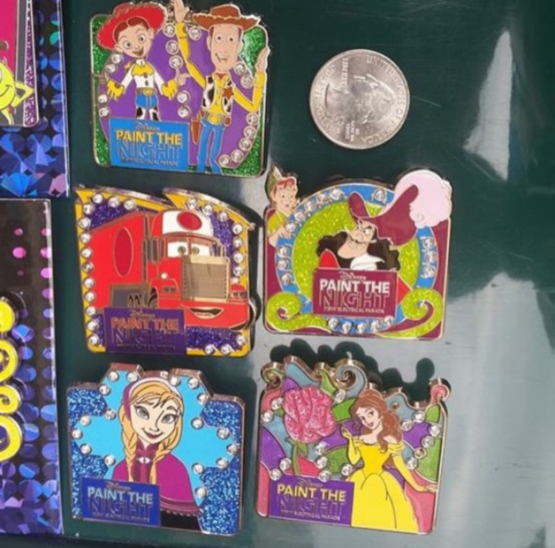 Disney Paint the Night Pins