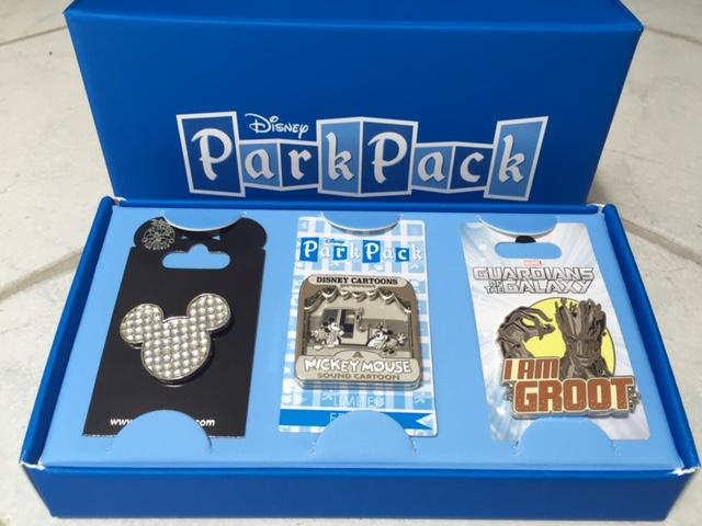 July 2015 Disney Park Pack Pins